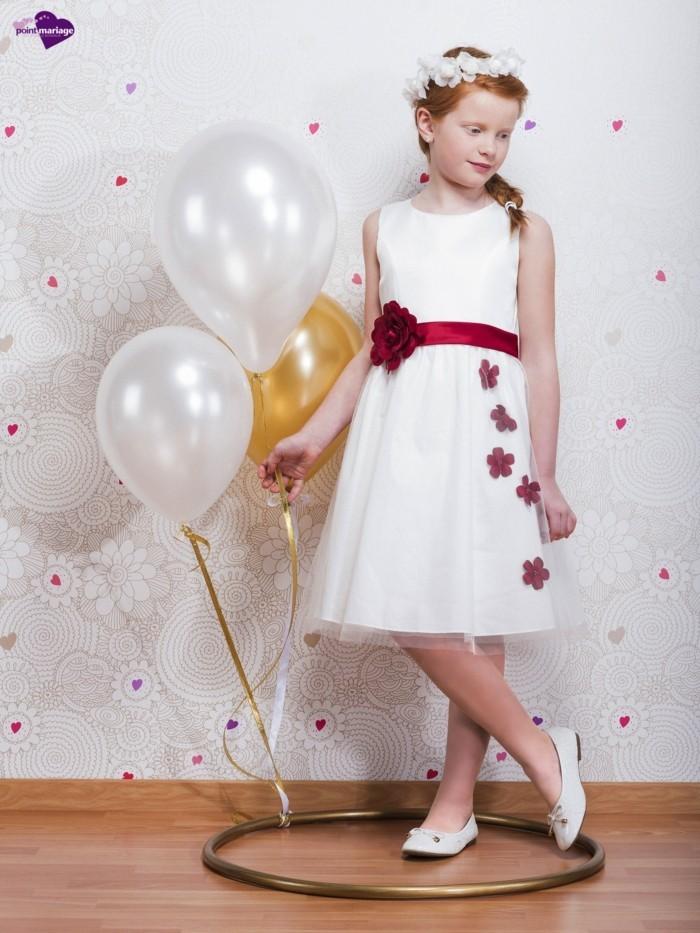81aa8163e2041 Robe mariage petite fille noir et blanc – Robes de soirée élégantes ...