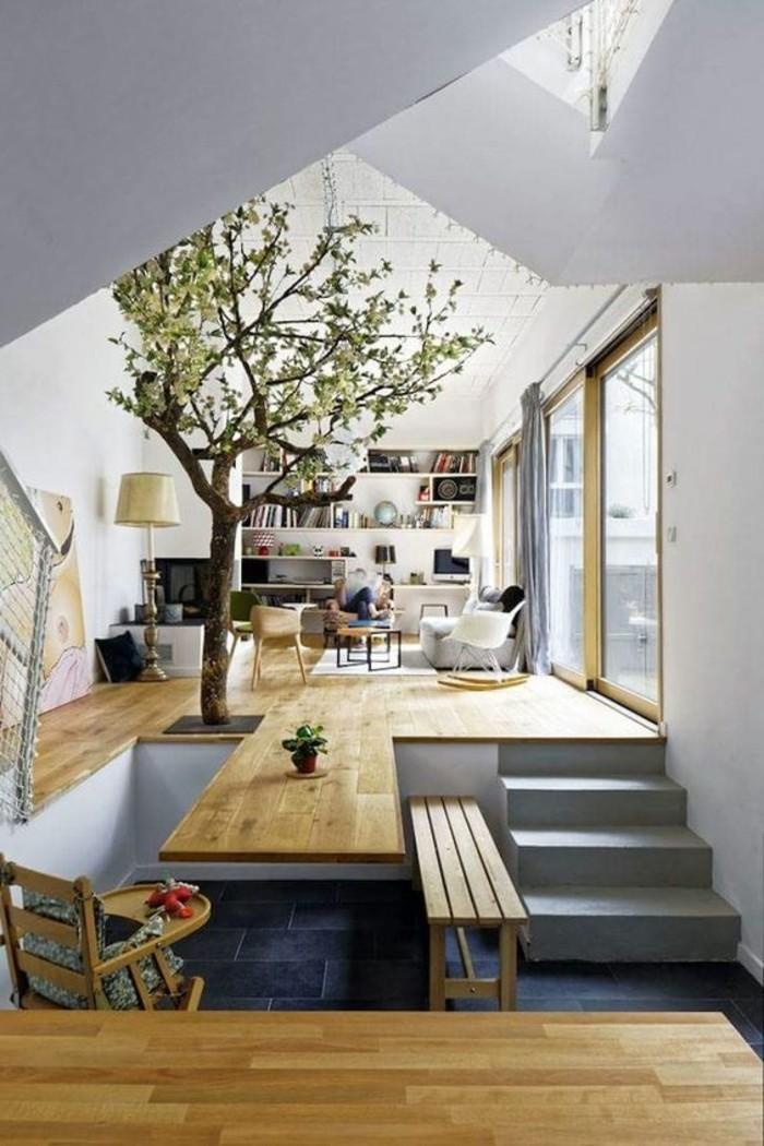 1-parquet-massif-chene-clair-escalier-d-interieur-chaise-bercante-blanche