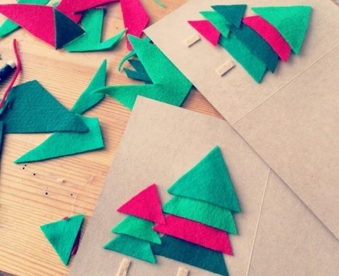 decouper-des-triangles-de-taille-differente-dans-une-feutrine-pour-creer-un-arbre-de-noel-sympa-carte-de-voeux-personnalisee
