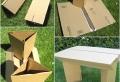 Meuble en carton – 60 idées que vous pouvez réaliser vous-mêmes