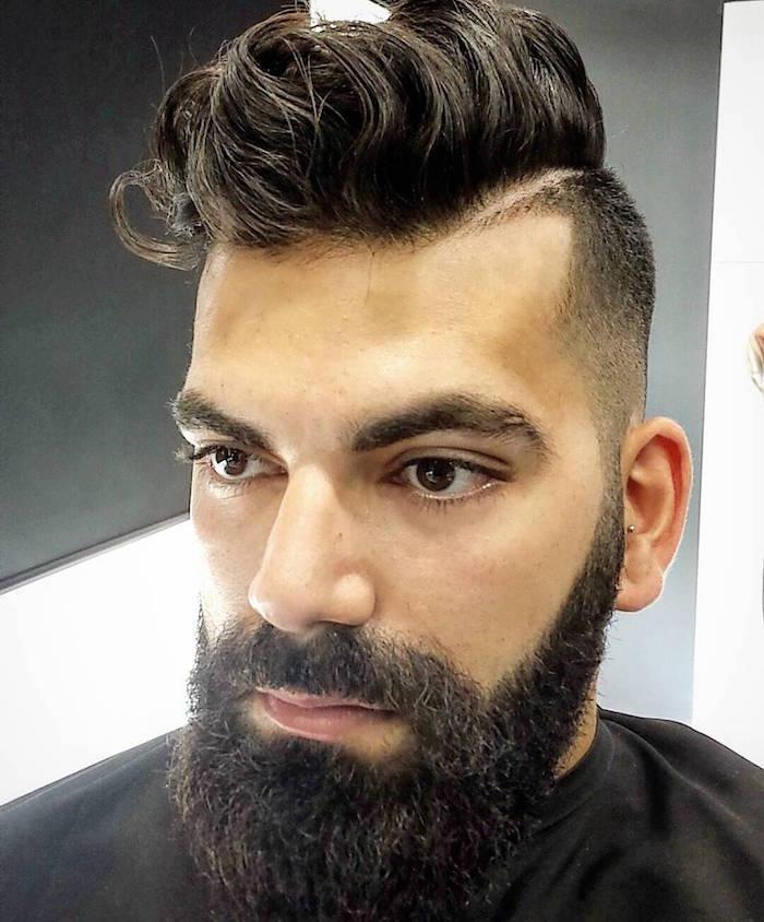 coupe de cheveux homme hipster 2017
