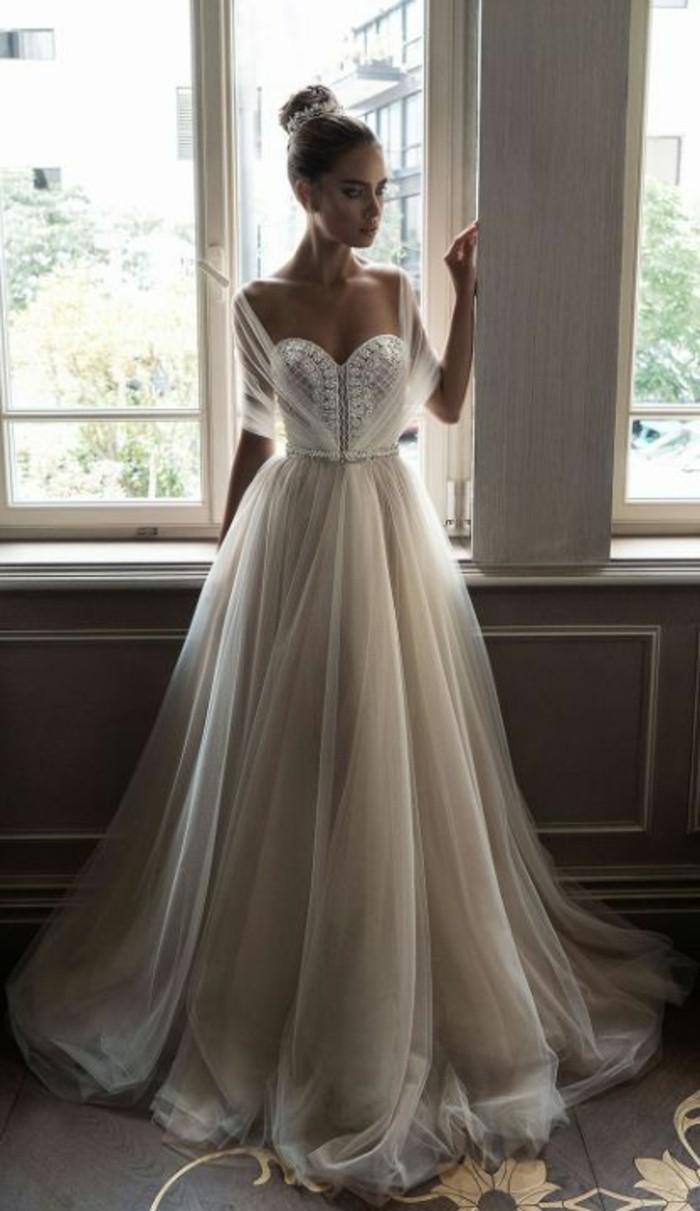 trouvez la meilleure robe de mari e avec manches On robe de mariage à manches bouffantes
