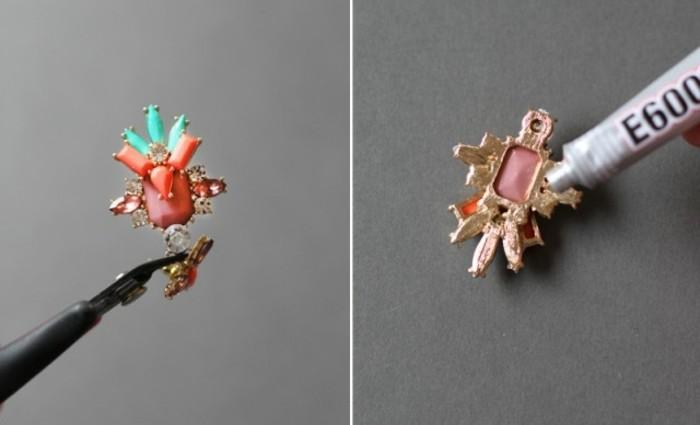 appliquer-la-boucle-d-oreille-dernier-etape-du-tutoriel-pour-fabriquer-un-joli-bracelet-femme-comme-cadeau-noel-femme