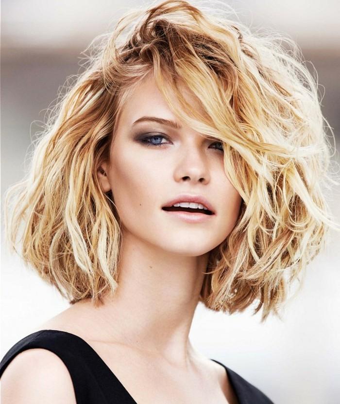 coupe cheveux carre degrade ondule