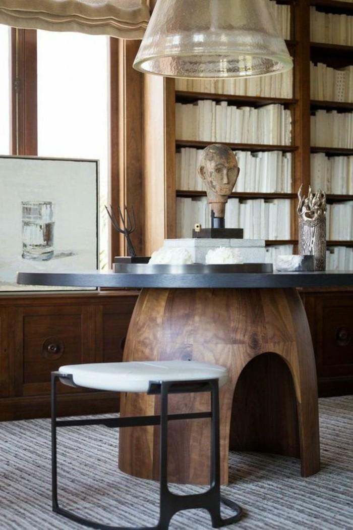 bibliotheque-meuble-et-table-originale-coin-de-lecture