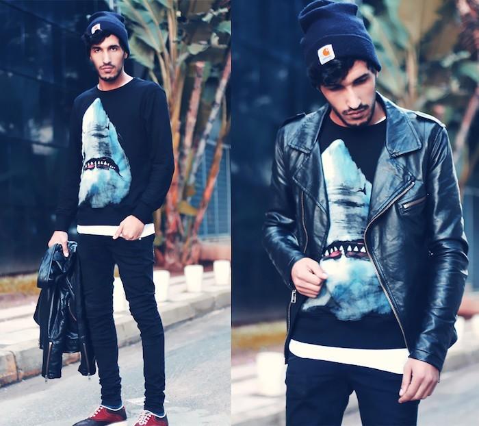 bonnet-homme-carhartt-bleu-coupe-hipster-homme