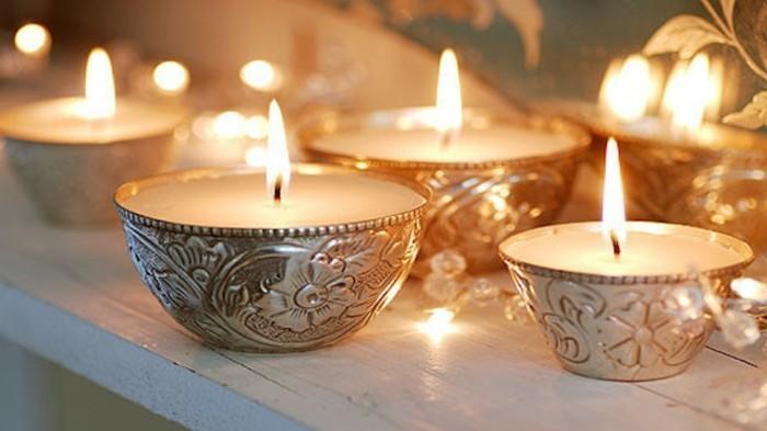 bougies-tres-elegantes-magnifique-suggestion-comment-faire-une-bougie-de-la-cire-versee-dans-de-jolies-moules