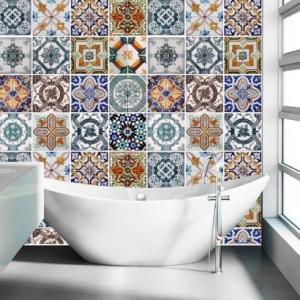 Stickers carrelage -  Mosaïque espagnole