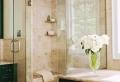Le carrelage beige pour salle de bain – 54 photos de salles de bain beiges