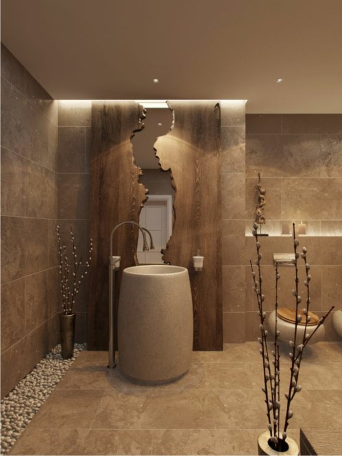 le carrelage beige pour salle de bain 54 photos de salles de bain beiges. Black Bedroom Furniture Sets. Home Design Ideas