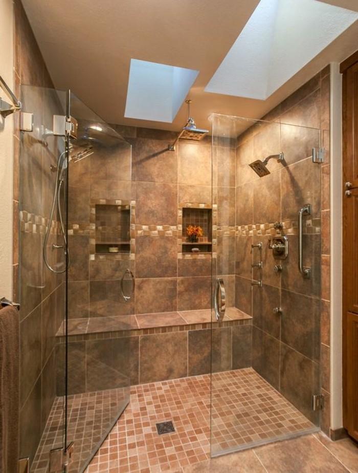 carrelage-taupe-fonce-salle-de-bain-marron-grande-cabine-de-douche