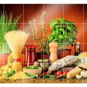 Stickers carrelage - Pour l'amour de la cuisine