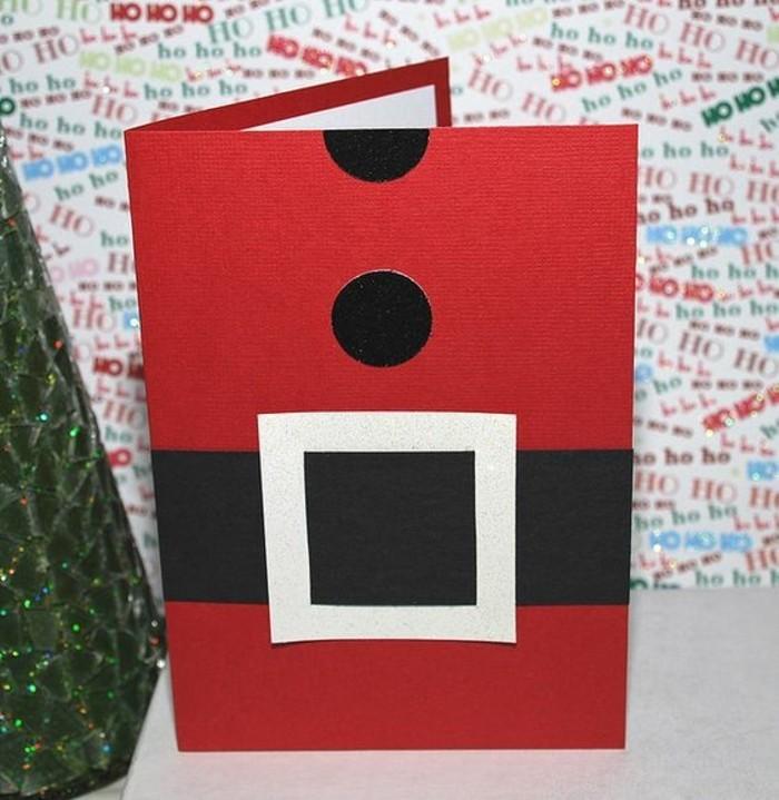 Carte De Noel A Confectionner.Carte De Voeux Personnalisée à Faire Pour Noël Tutos Et 70