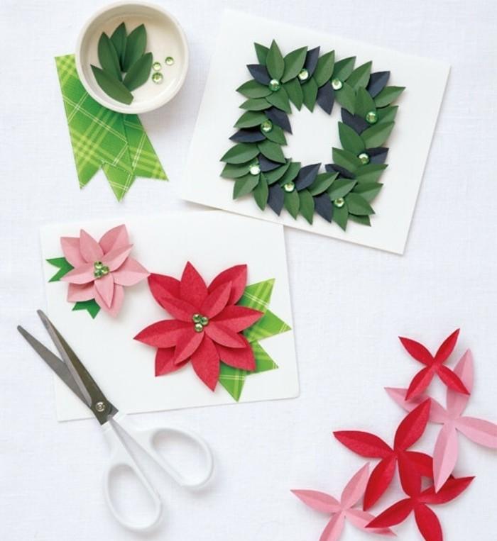 cartes-de-noel-tres-creatives-a-faire-soi-meme-fleur-etoile-de-noel-tres-jolie