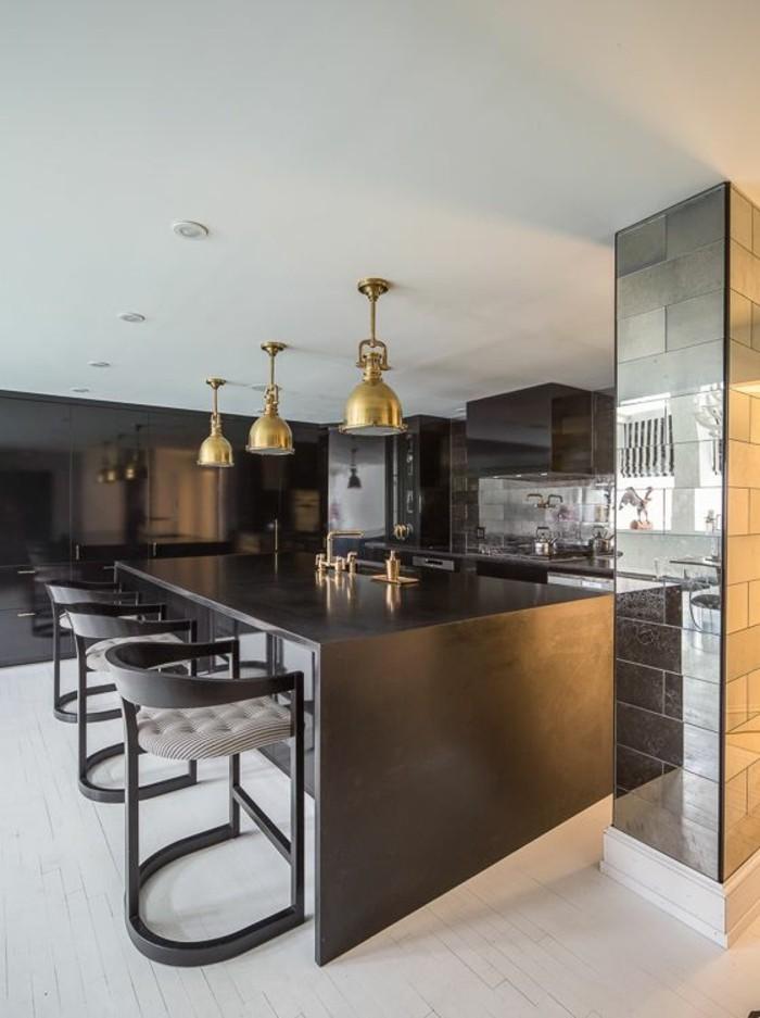 La chaise de cuisine moderne en 62 photos inspirantes - Bar de cuisine moderne ...