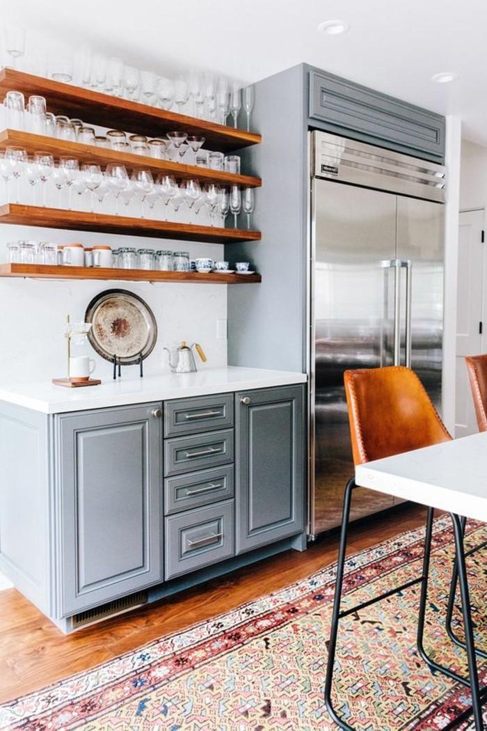 Cuisine Couleur Marron : La chaise de cuisine moderne en photos inspirantes