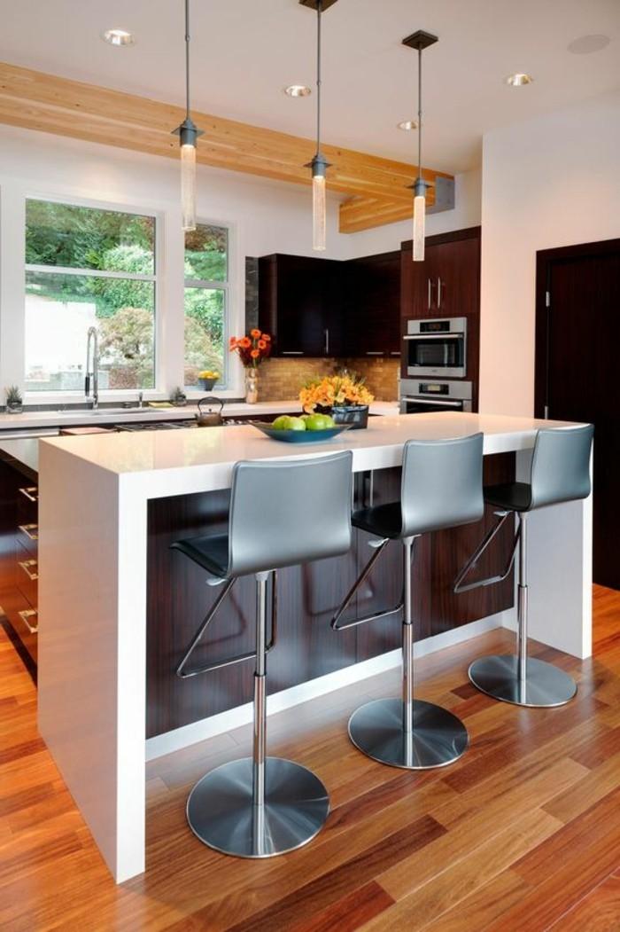 La chaise de cuisine moderne en 62 photos inspirantes Cuisine de bar