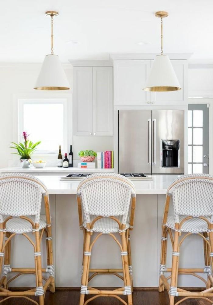 chaise-de-cuisine-moderne-chaises-tressees-blanches