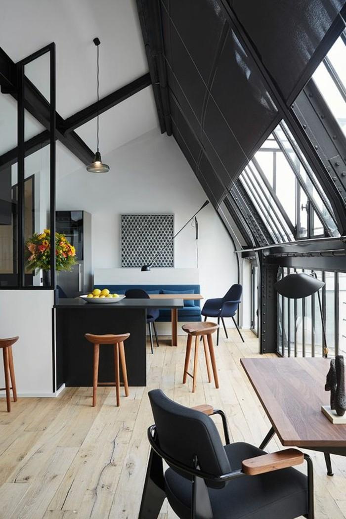 La chaise de cuisine moderne en 62 photos inspirantes - Amenagement cuisine salon ...