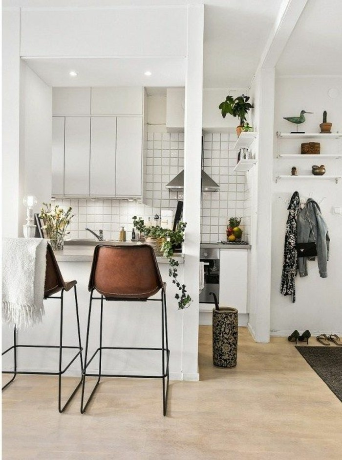 la chaise de cuisine moderne en 62 photos inspirantes. Black Bedroom Furniture Sets. Home Design Ideas