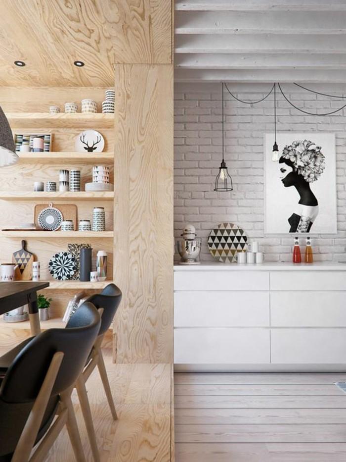 chaise-de-cuisine-moderne-cuisine-style-scandinave-carrelage-metro