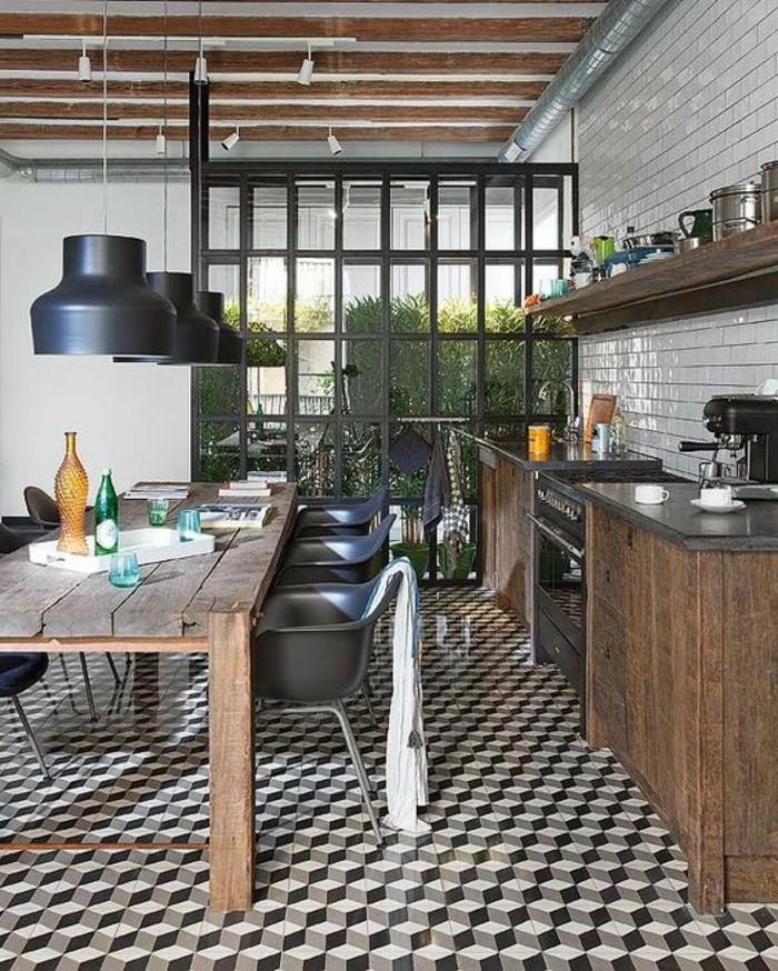 La chaise de cuisine moderne en 62 photos inspirantes - Image carrelage cuisine ...