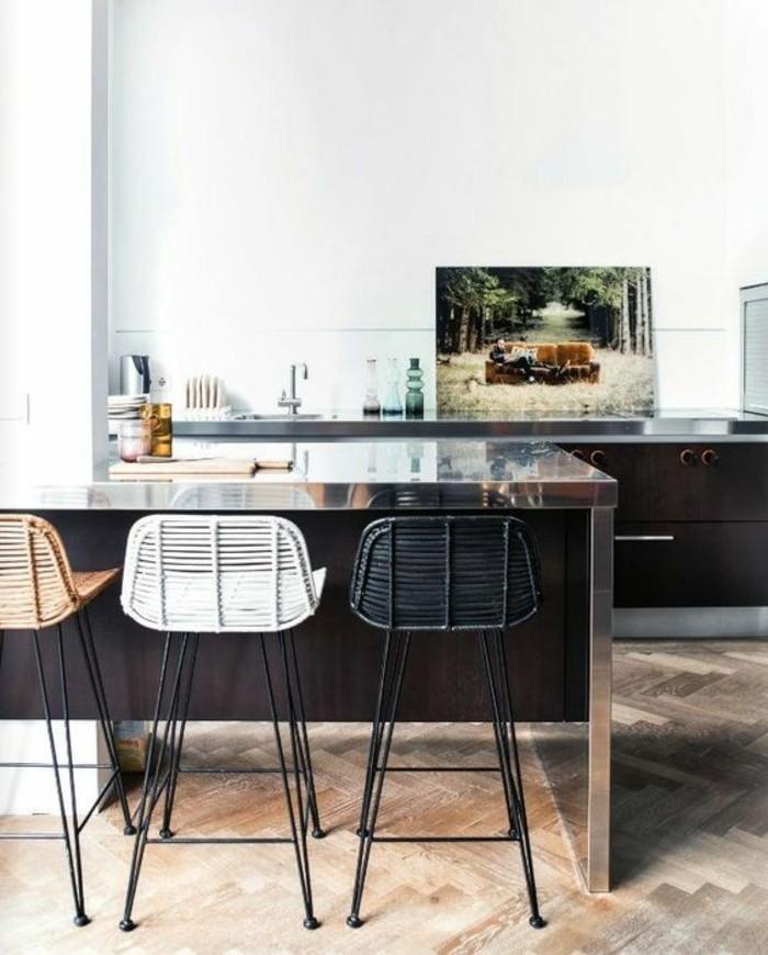 chaises hautes de cuisine design. Black Bedroom Furniture Sets. Home Design Ideas