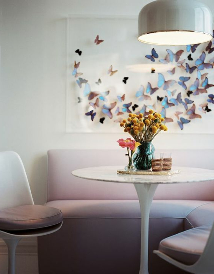 chaise-tulipe-chaises-blanches-knoll-coussins-beiges