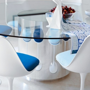 La chaise tulipe - emblème du design des années cinquante
