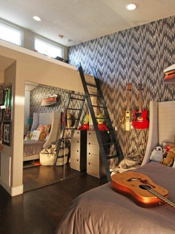 chambre-moderne-ado-amenager-une-chambre-de-garcon-originale