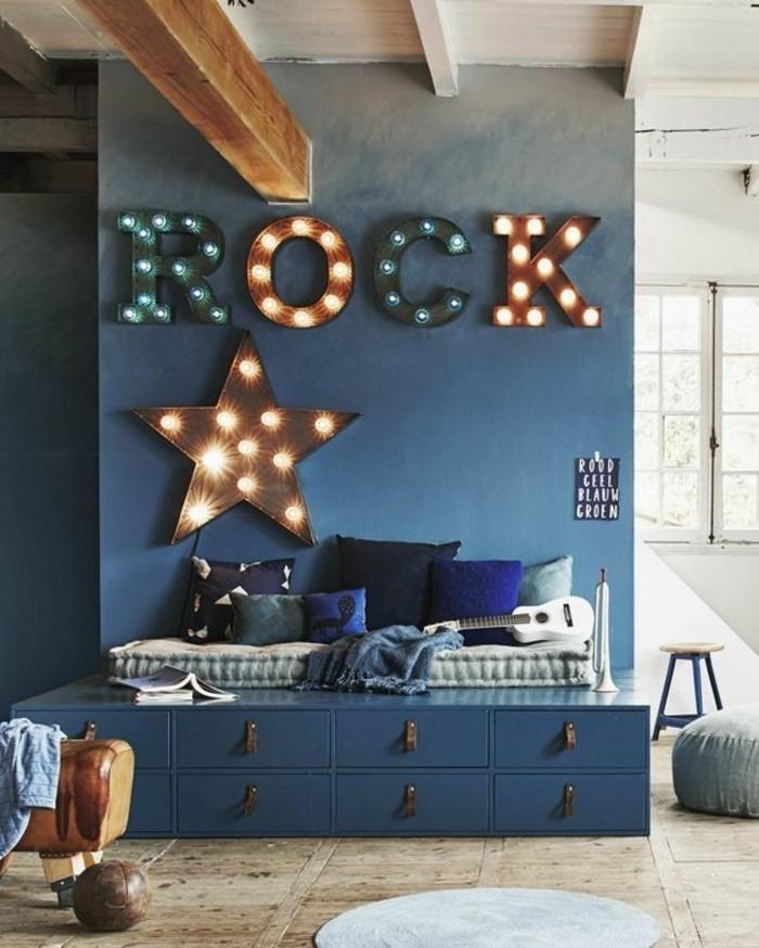 chambre-moderne-ado-chambre-dado-garcon-lettres-murales