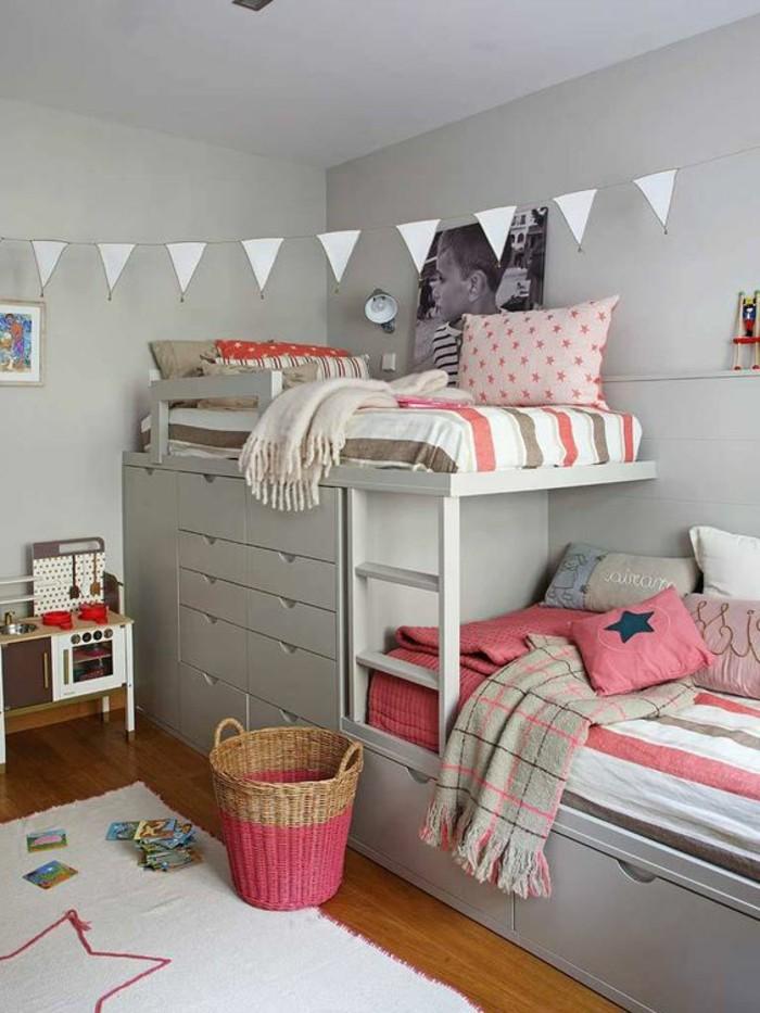 chambre-moderne-ado-en-couleur-gris-lits-superposes