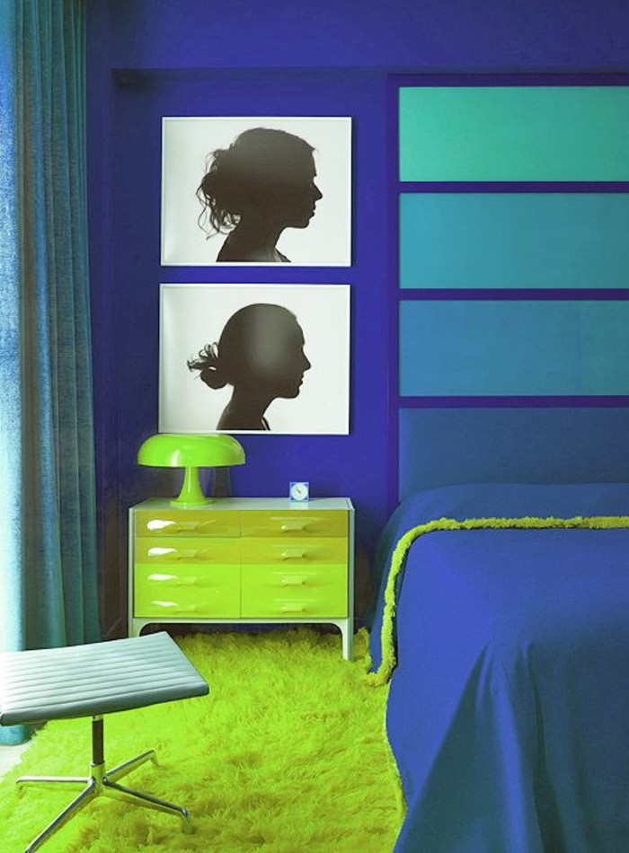 chambre-moderne-ado-idee-chambre-ado-fille-tapis-vert