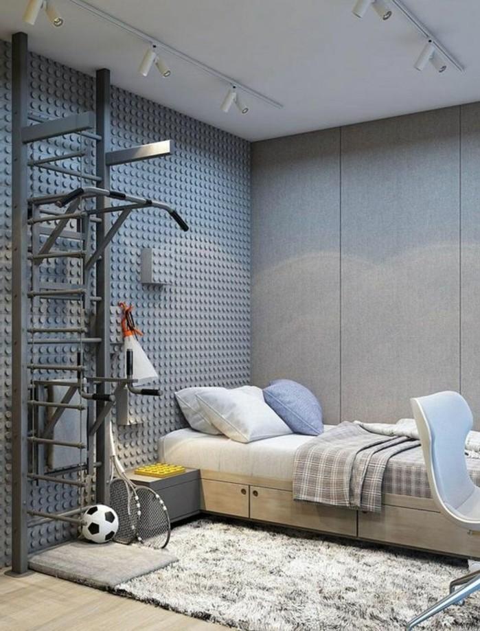 La chambre moderne ado 61 int rieurs pour filles et pour - Idee deco chambre ado petit espace ...