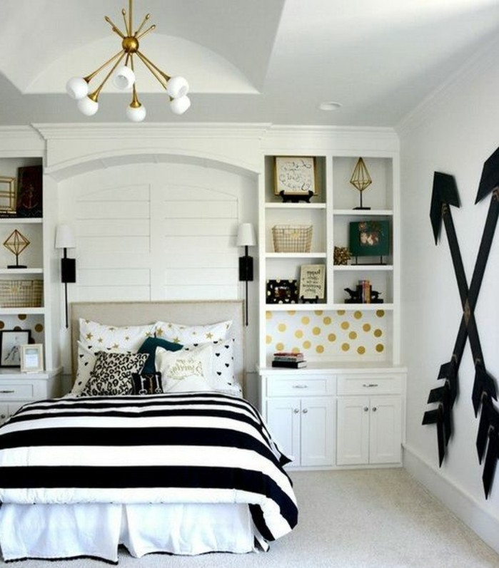 chambre moderne ado