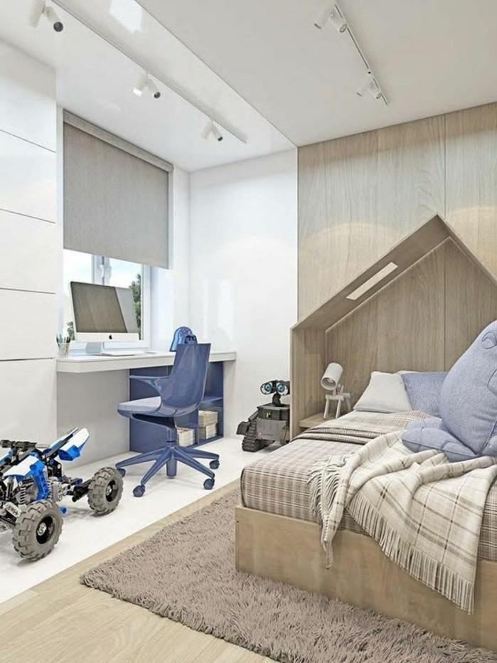 la chambre moderne ado 61 int rieurs pour filles et pour. Black Bedroom Furniture Sets. Home Design Ideas
