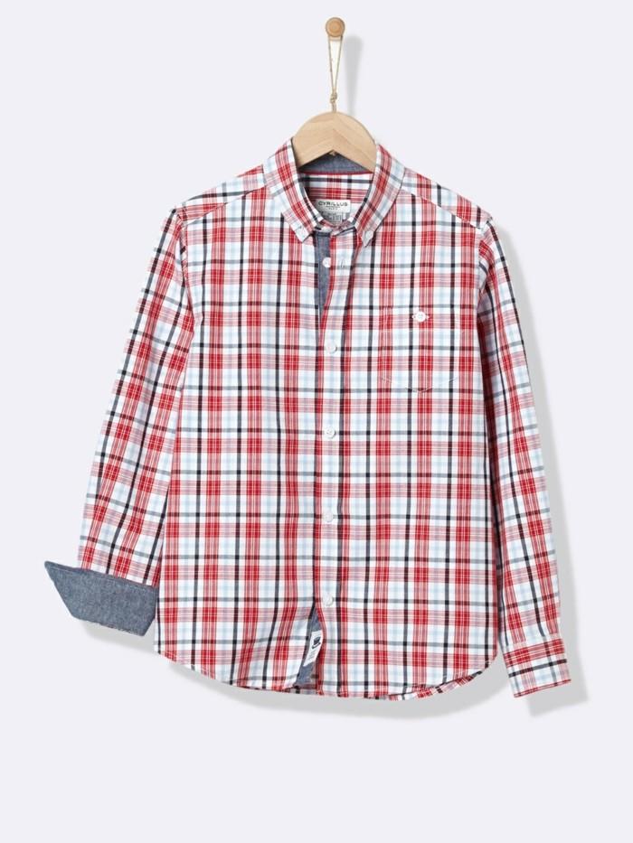 chamise-a-carreaux-enfant-cyrillus-avec-les-manches-en-denim-sur-la-partie-posterieure-resized