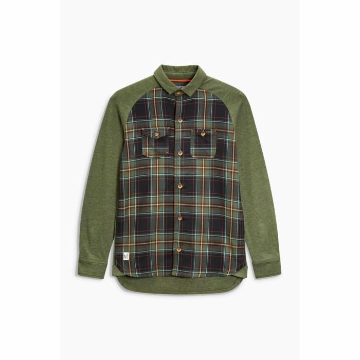 chemise-a-carreaux-enfant-3-suisses-en-couleur-verte-olive-resized