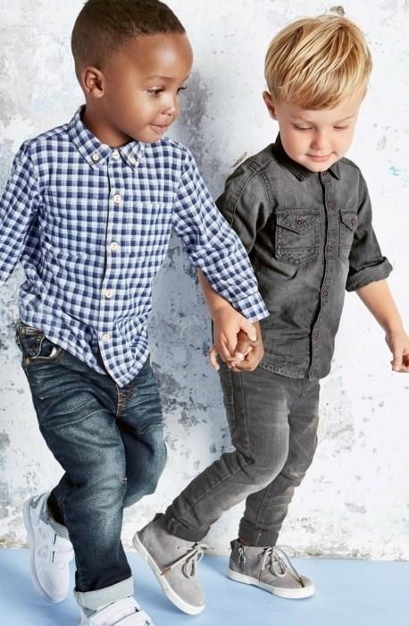 chemise a carreaux enfant 3 suisses et en denim noir resized e1478787972332jpg