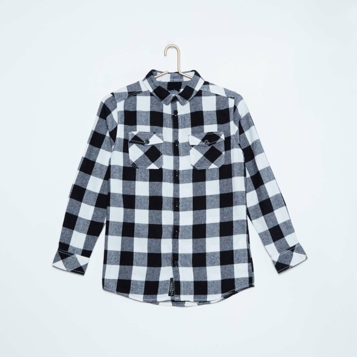 chemise-a-carreaux-enfant-kiabi-garcon-blanc-et-noir-resized