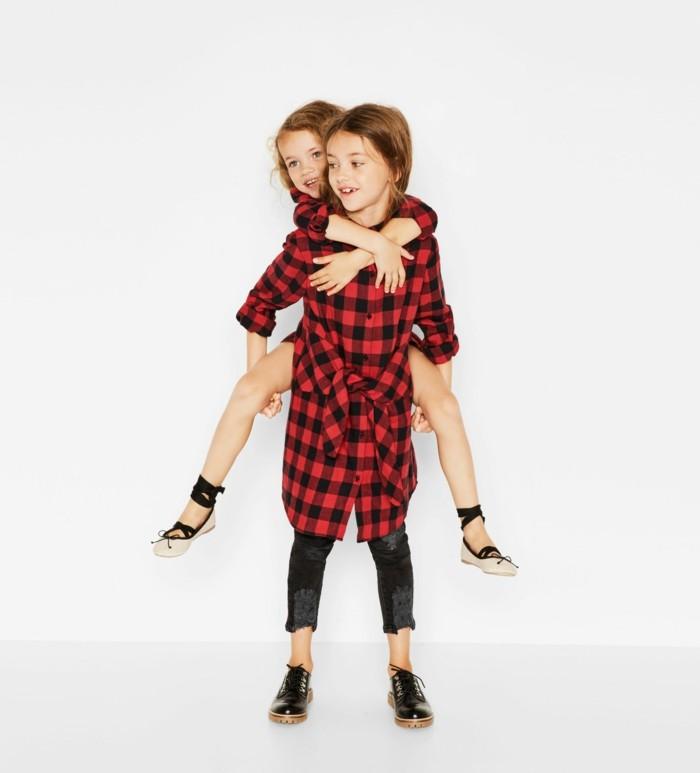 chemise-a-carreaux-enfant-zara-fille-rouge-et-noir-resized