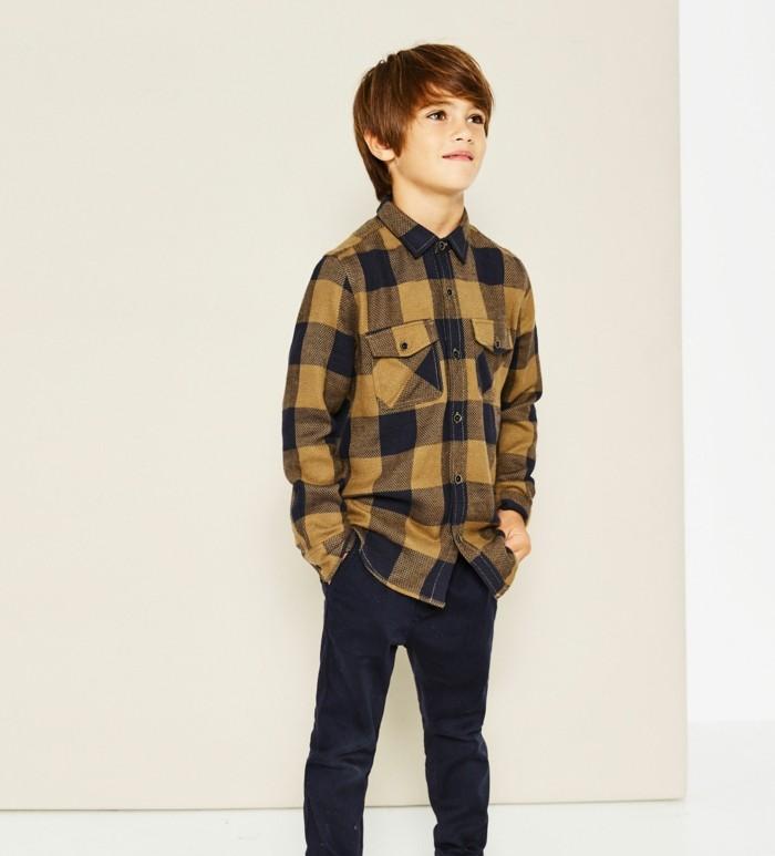 chemise-a-carreaux-enfant-en-jaune-et-noir-zara-resized