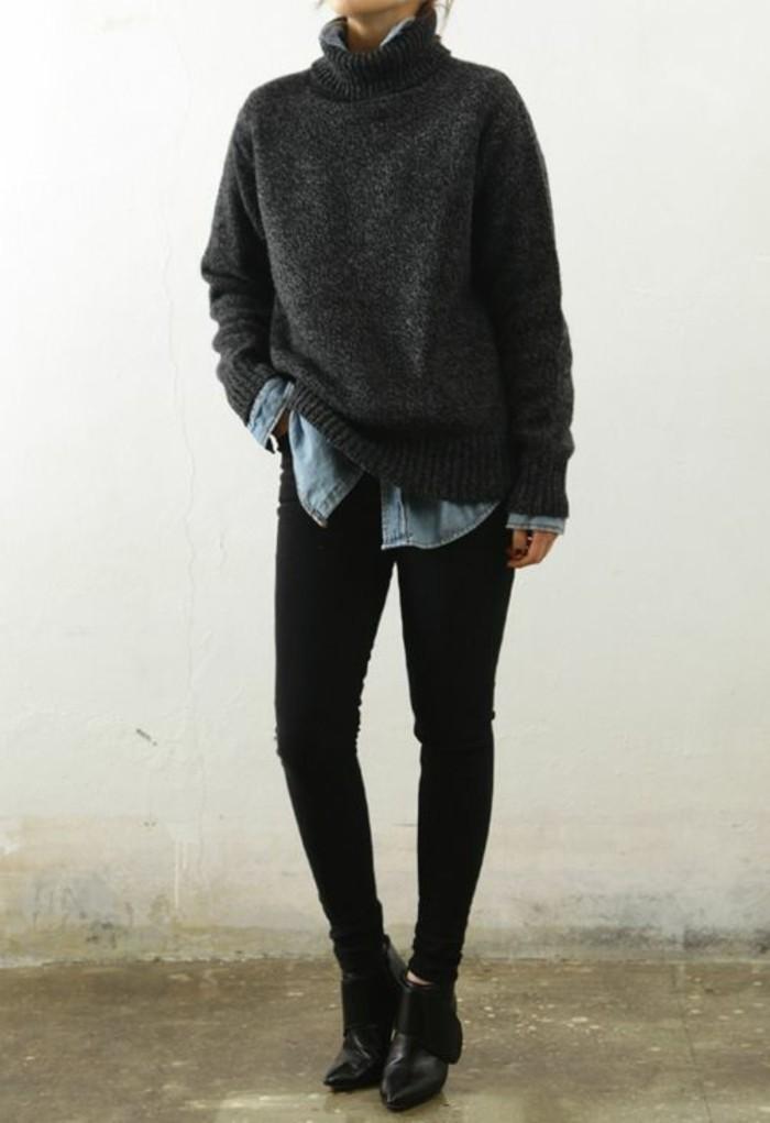 chemise-en-jean-dessous-large-pull-en-laine
