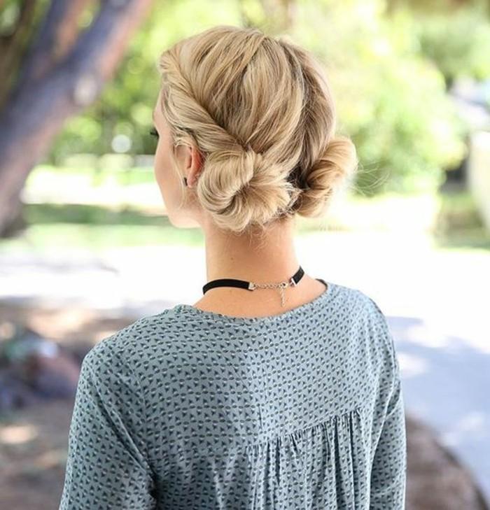 chignon-bas-facile-chignon-de-deux-cotes-tuto-coiffure-simple