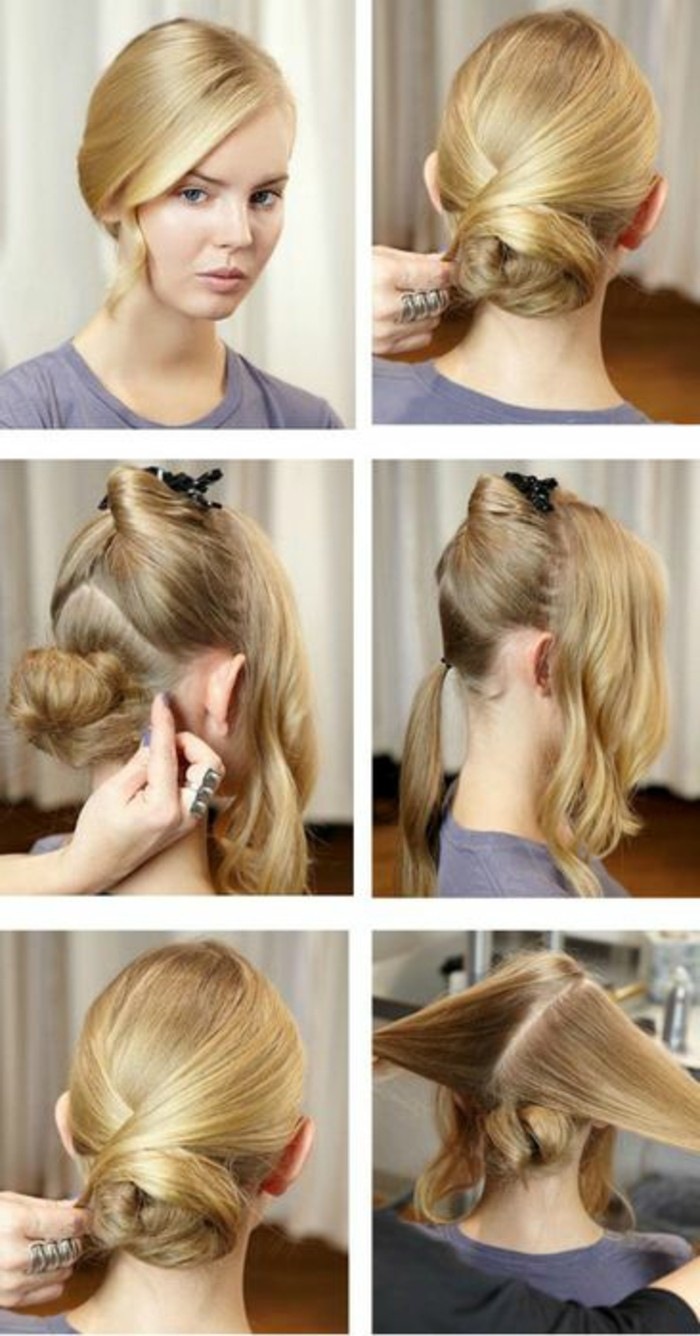 chignon-bas-facile-tutoriel-coiffure-simple-et-originale