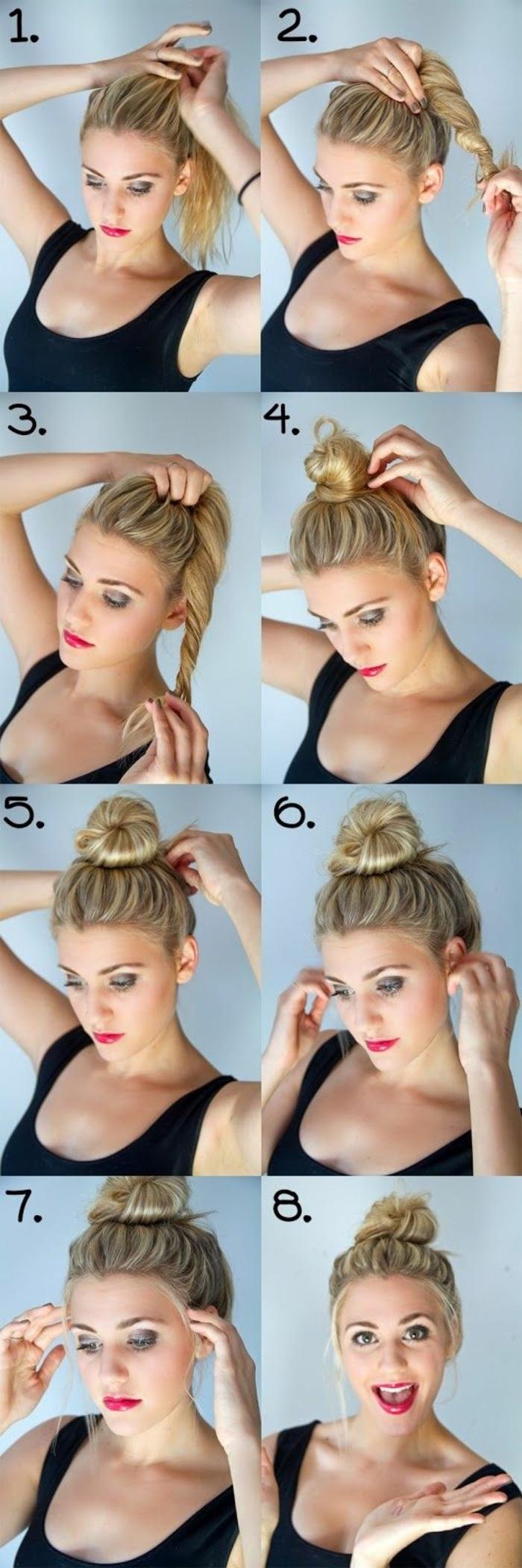 chignon-facile-a-faire-coiffure-elegante-cheveux-longs