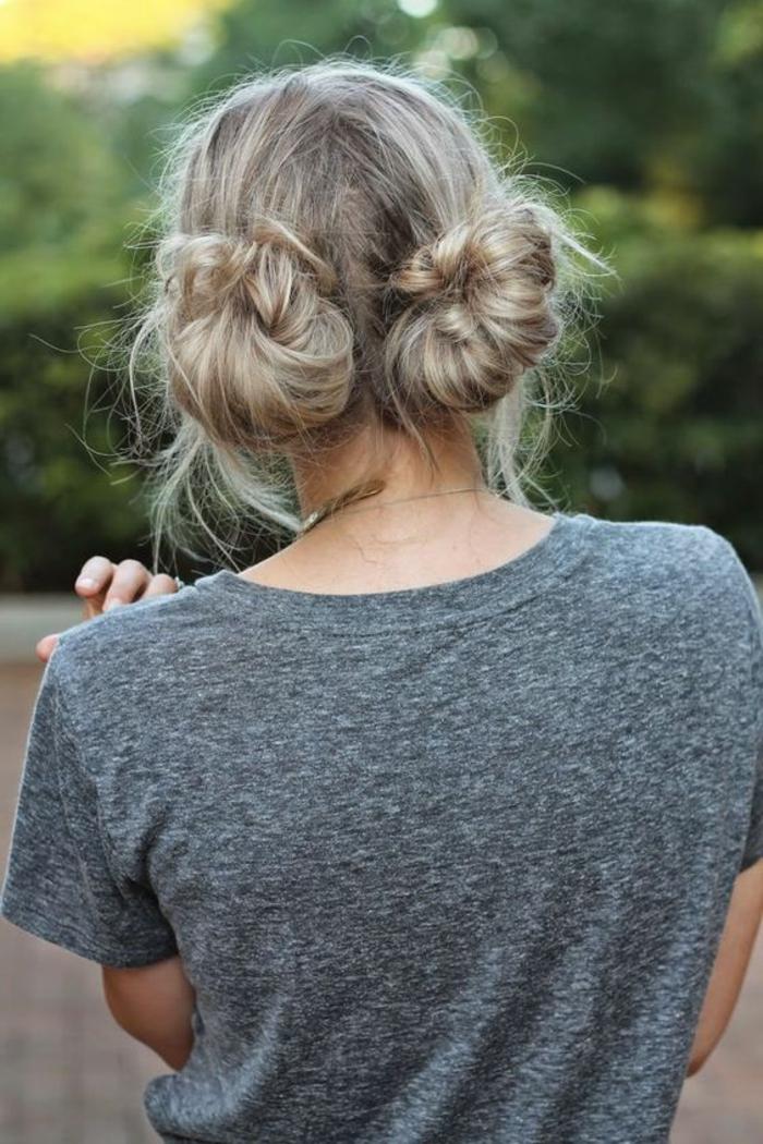 chignon-facile-a-faire-coiffure-de-fille-boho-chic