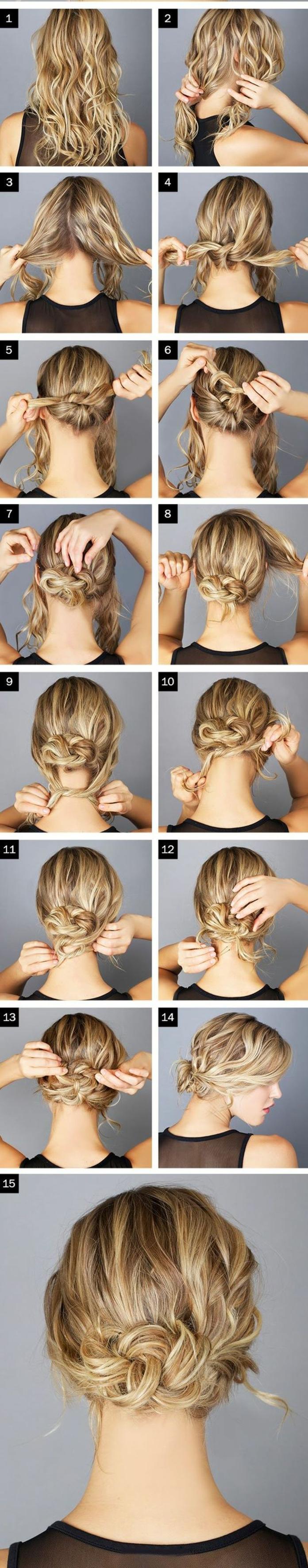chignon-facile-a-faire-coiffure-originale-a-faire-soi-meme