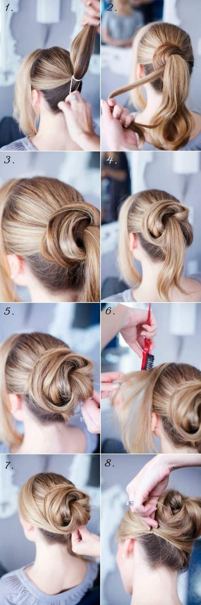 chignon-facile-a-faire-coiffure-rapide-et-facile-cheveux-longs