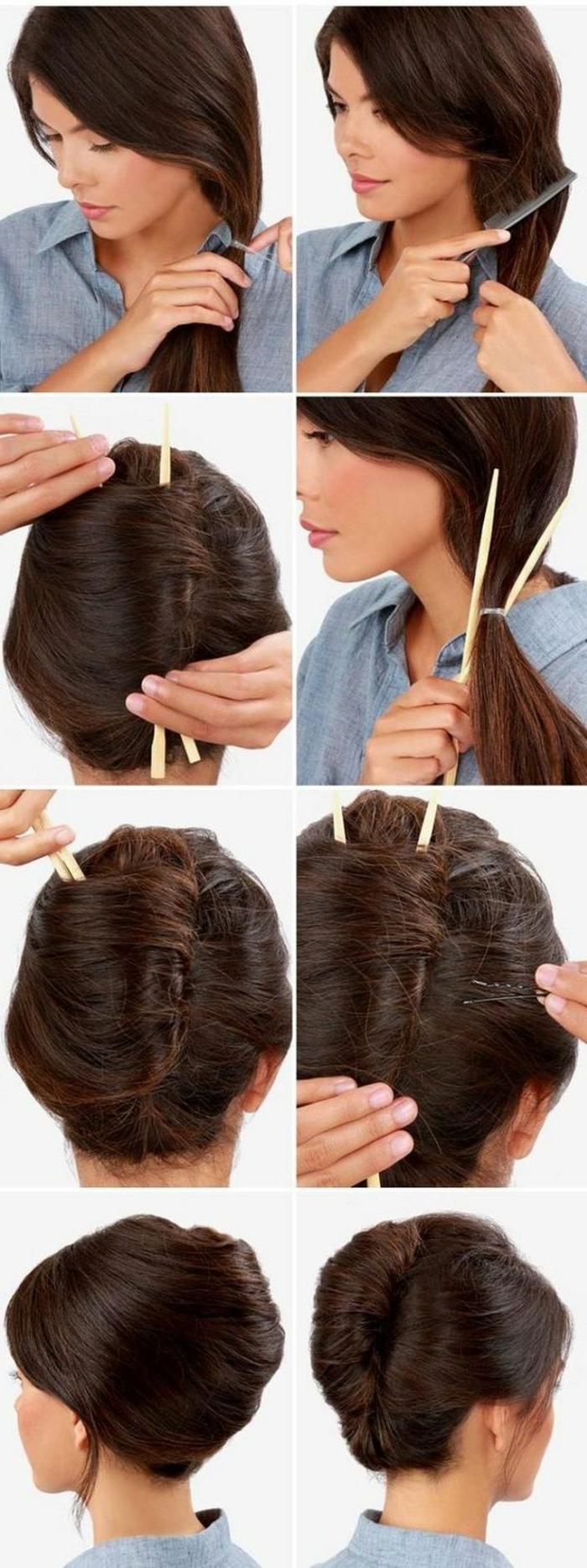 chignon-facile-a-faire-variante-coiffure-originale-et-rapide